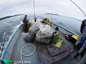fishing gear retreived